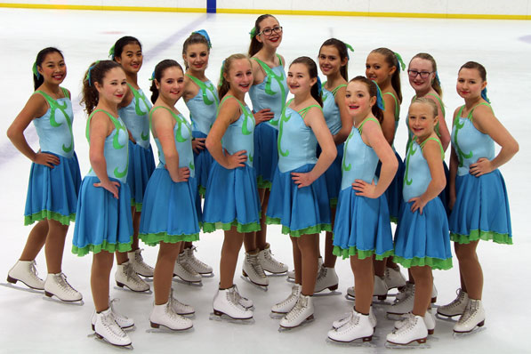 Team Chiller Synchronized Skating 2015