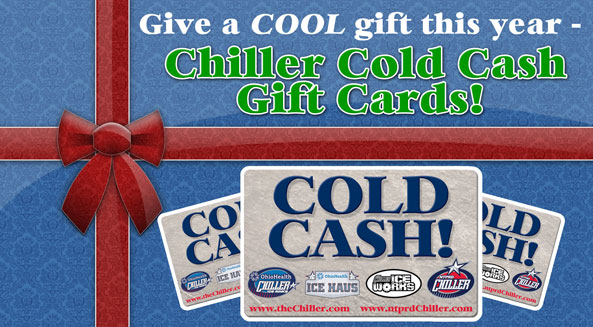 Cold Cash Gift Cards make the perfect gift!